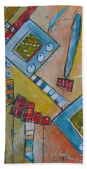 Abstract 74 Beach Towel