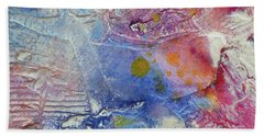 Beach Towel featuring the painting Abstract 8 by Tracy Bonin
