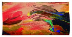 Abstract 8070 Beach Towel