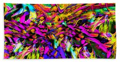 Abstract 837 Beach Towel