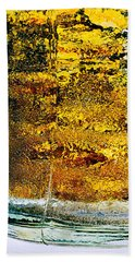 Abstract #8442 Beach Towel by Andrey Godyaykin