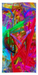 Abstract 9028 Beach Towel