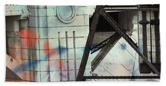 Abstract Architecture Beach Towel by Susan Stone