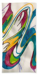 Abstract Art 103 Beach Sheet