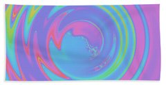 Abstract Camera Lens Beach Towel