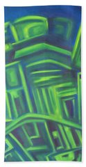 Abstract Cityscape Series IIi Beach Towel