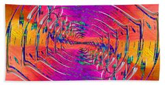 Abstract Cubed 319 Beach Towel