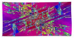 Abstract Cubed 329 Beach Towel