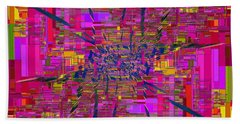 Abstract Cubed 330 Beach Towel
