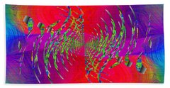 Abstract Cubed 335 Beach Towel