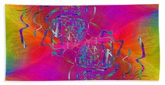 Abstract Cubed 342 Beach Towel