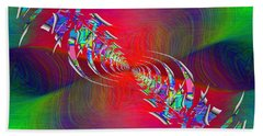 Abstract Cubed 347 Beach Towel