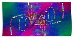 Abstract Cubed 363 Beach Towel