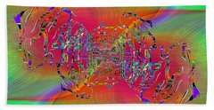 Abstract Cubed 382 Beach Towel