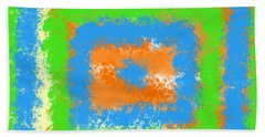 Abstract Drama Beach Towel by Keshava Shukla