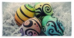 Abstract Easter II Beach Sheet