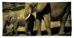 Abstract Elephants 23 Beach Towel