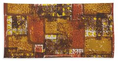 Abstract_ Fall  Beach Towel