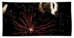 Abstract Fireworks IIi Beach Towel