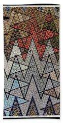 Abstract Floor  Beach Sheet