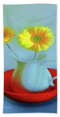 Abstract Floral Art 268 Beach Sheet