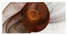 Abstract Fractal Art Beach Towel by Gabiw Art
