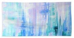 Abstract Frost 2 Beach Sheet