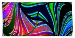 Abstract Fusion 278 Beach Sheet by Will Borden