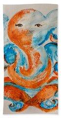 Abstract Ganesha Beach Towel