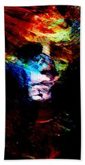 Abstract Ghost Beach Towel
