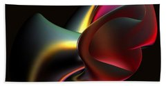 Abstract In 3d Beach Towel