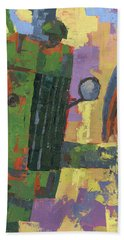 Abstract Johnny Beach Towel