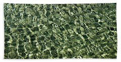 Beach Sheet featuring the photograph Abstract Lake Reflections by LeeAnn McLaneGoetz McLaneGoetzStudioLLCcom