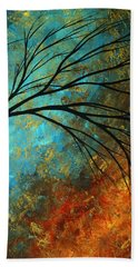 Abstract Landscape Art Passing Beauty 4 Of 5 Beach Towel