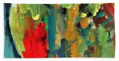 Abstract Love By Lisa Kaiser Beach Towel