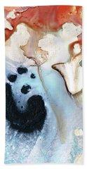 Abstract Modern Art - The Vessel - Sharon Cummings Beach Towel by Sharon Cummings