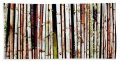 Abstract Nature Bamboo Shoots Photo 806 Beach Towel