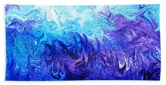 Abstract Ocean Fantasy Five Beach Towel
