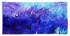 Abstract Ocean Fantasy Four Beach Towel