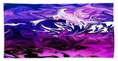 Abstract Ocean Fantasy Two Beach Towel