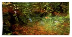 Abstract Of St Croix River 04 Beach Towel