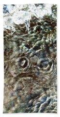 Abstract Owl Beach Towel