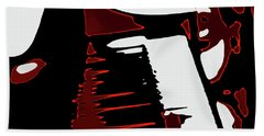 Abstract Piano Beach Towel