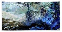 Abstract Runoff Beach Towel