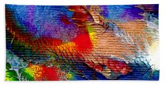 Abstract Series 0615a-5 Beach Towel