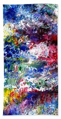 Abstract Series 070815 A2 Beach Towel