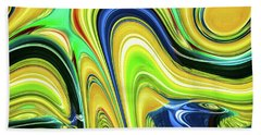 Abstract Series 153240 Beach Towel