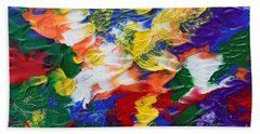 Abstract Series A1015ap Beach Towel