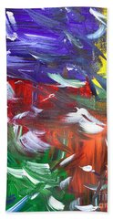 Abstract Series E1015ap Beach Towel
