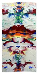 Abstract Series H1015a Beach Towel